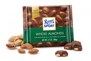 Ritter Sport Whole Almonds 100g