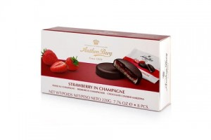 Antohn Berg Strawberry In Champagne 220g