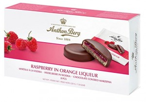 Anthon Berg Raspberry In Orange Liqueur 220g