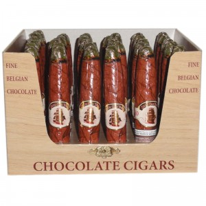Belgian Chocolate Cigars 25g