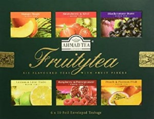 Ahmad  Fruitytea 60 Foil Enveloped Teabags