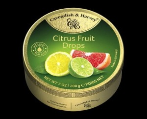 Cavendish & Harvey Drops Citrus Fruit 200g