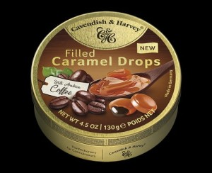 Cavendish & Harvey  Caramel Drpos with Coffee 130g