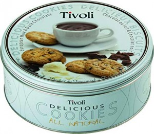 Jacobsen B. Tivoli European Milk&Dark Chocolate 150g