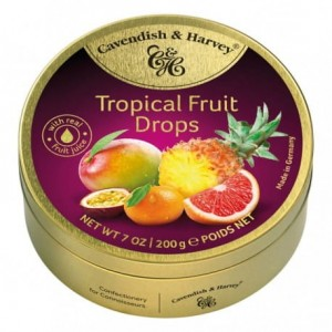 Cavendish & Harvey Tropical Fruit Drops 200g