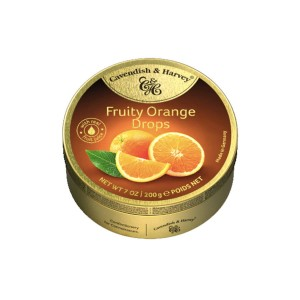 Cavendish & Harvey Fruity Orange Drops 200g