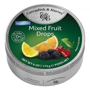 Cavendish & Harvey Sugar Free Mixed Fruit 175g