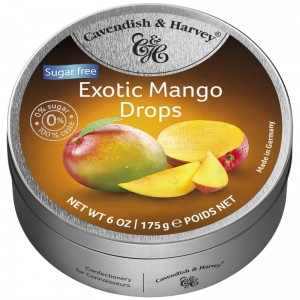 Cavendish & Harvey Exotic Mango Sugar Free 175g
