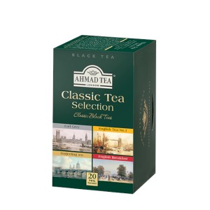 Ahmad Classic Tea Selection 20 Foil Teabags
