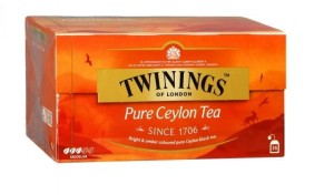 Twinings Pure Ceylon Tea 25sasz.