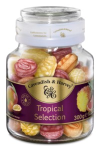 Cavendish & Harvey Tropical Selection 300g