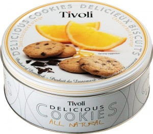 Jacobsen Bakery Tivoli Dark Chocolates&Orange 150g