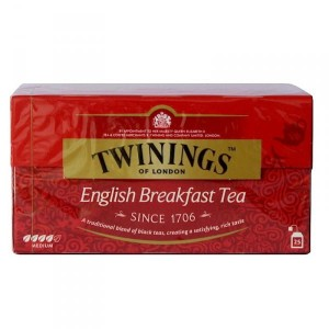 Twinings English Breakfast 25 sztuk