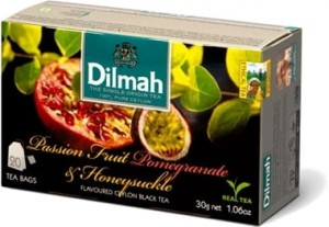 Dilmah Passion Fruit Pomegranate&Honeysuckle 30g
