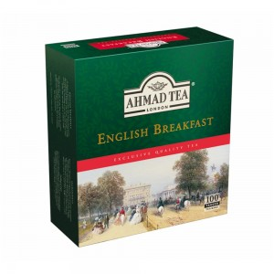Ahmad English Breakfast 100 Tagged Teabags