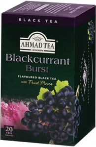 Ahmad Blackcurrant Burst 20 Foil Teabags